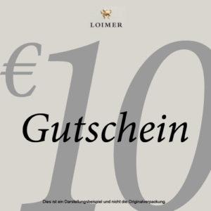 Geschenk-Gutschein € 10,00